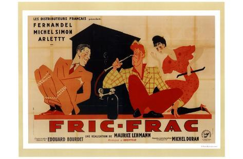 Fric-Frac Art Print