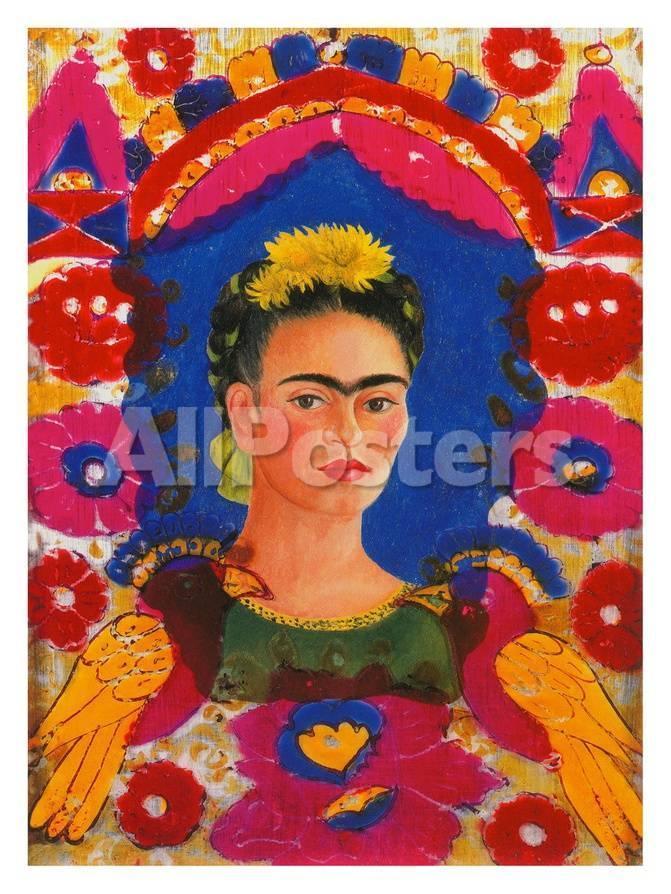 The Frame, c. 1938 Lámina giclée por Frida Kahlo en AllPosters.es
