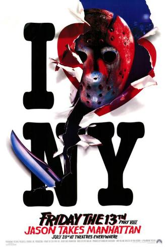 Friday the 13th Part 8 Jason Takes Manhattan Masterprint