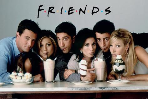Friends-Milkshakes Poster