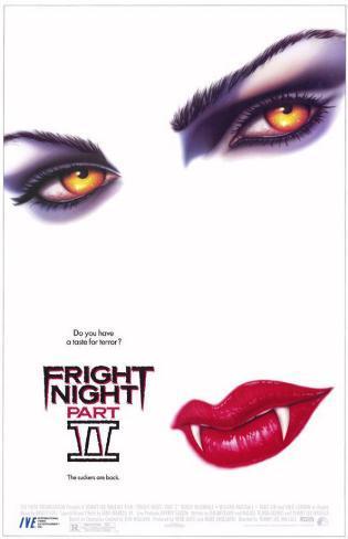 Fright Night Part II Impressão original