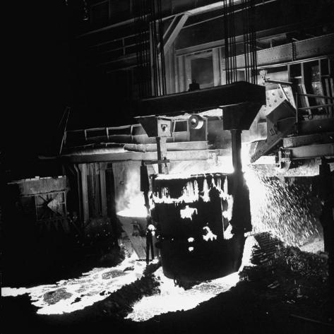 Manufacturing Steel Photographic Print