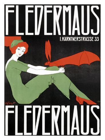 Fledermaus Giclee Print