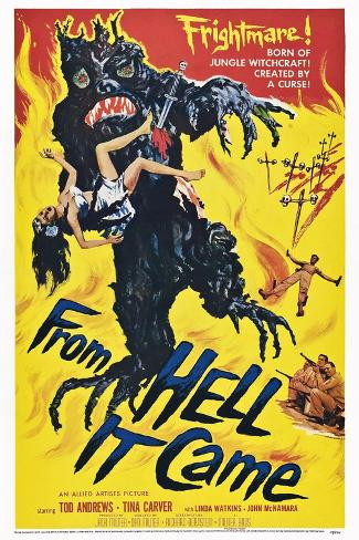 From Hell it Came Art Print