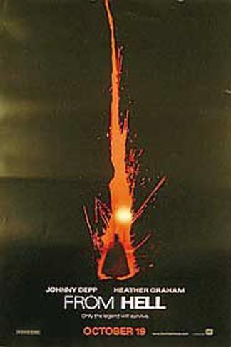 From Hell Original Poster