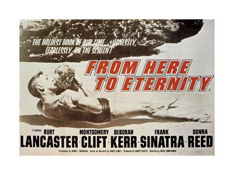 From Here To Eternity, 1953, Directed by Fred Zinnemann ジクレープリント