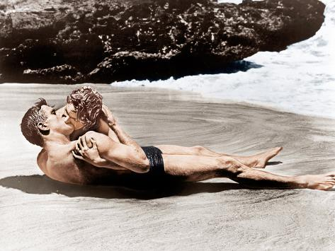 From Here to Eternity, Burt Lancaster, Deborah Kerr, 1953 Foto