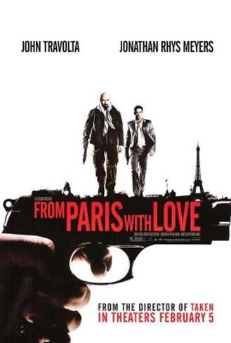 From Paris With Love Original Poster