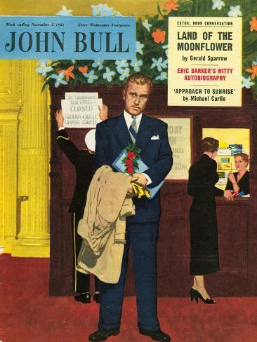 Front Cover of 'John Bull', November 1955 Stampa giclée
