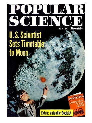 オールポスターズの front cover of popular science magazine may 1