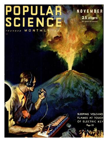 Front Cover of Popular Science Magazine: November 1, 1930 Art Print