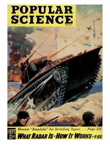 オールポスターズの front cover of popular science magazine