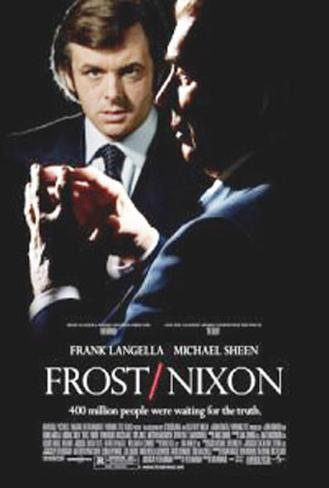 Frost/Nixon Double-sided poster