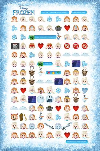 Frozen- An Emojis Tale Poster