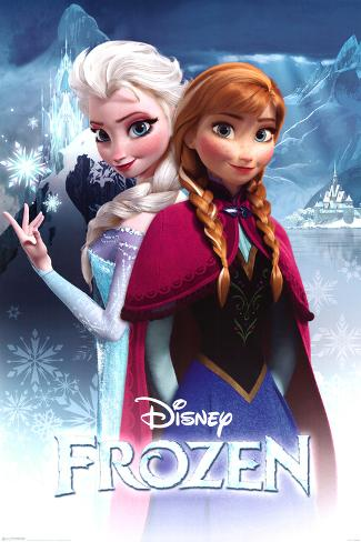 frozen anna and elsa posters. Black Bedroom Furniture Sets. Home Design Ideas