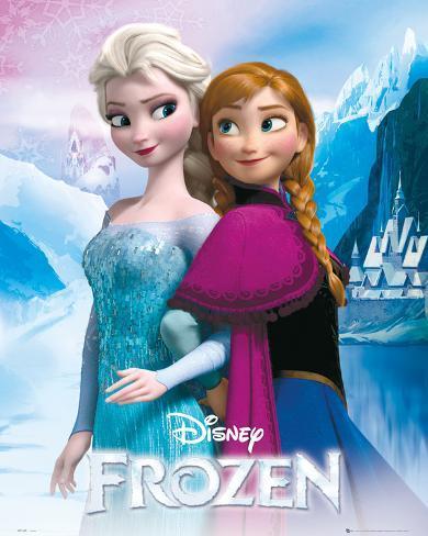 Frozen - Anna & Elsa Mini Poster
