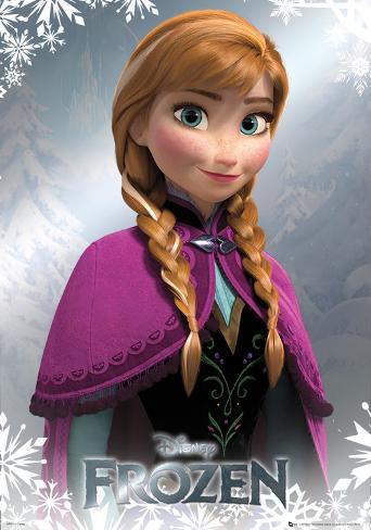 Frozen - Anna Foil Poster Poster