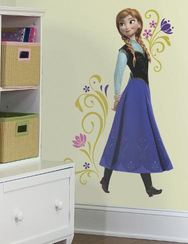 Frozen Anna Peel and Stick Giant Wall Decals Wall Decal