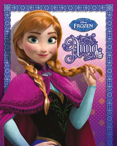 Frozen - Anna Mini Poster