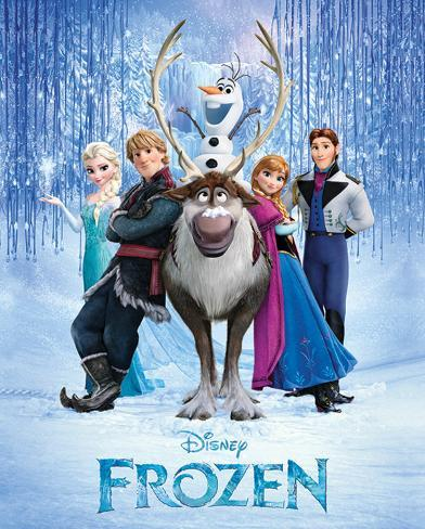 Frozen - Cast Mini Poster