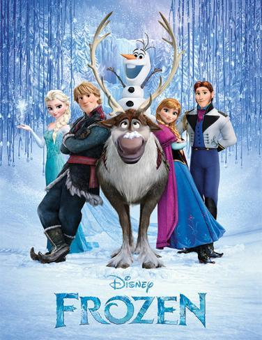Frozen - Cast Masterprint
