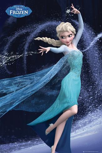 Frozen - Elsa Let It Go Poster