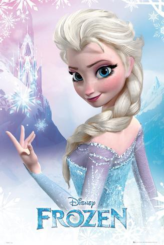 Frozen elsa posters by allposters frozen elsa voltagebd Choice Image