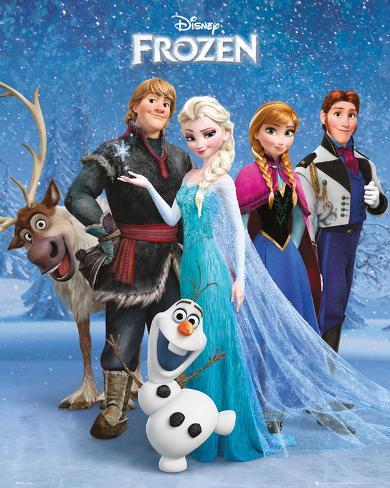 Frozen - Group Miniposter