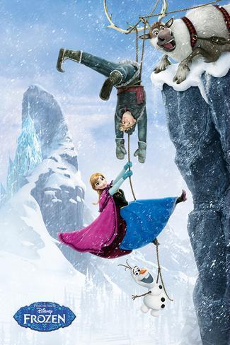 Frozen - Hanging Poster