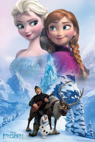 Frozen-Il regno di ghiaccio - collage Poster