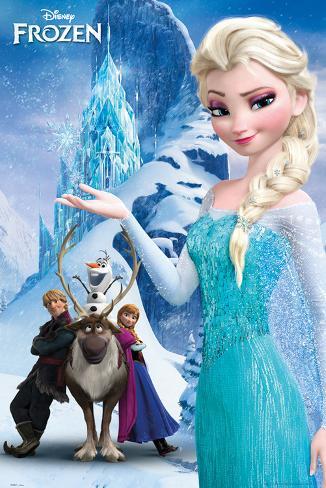 Frozen-Il regno di ghiaccio - montagna Poster