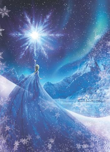 Frozen-Il regno di ghiaccio - regina delle nevi Carta da parati decorativa