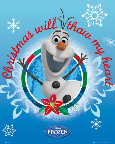 Frozen - Olaf Christmas Mini Poster