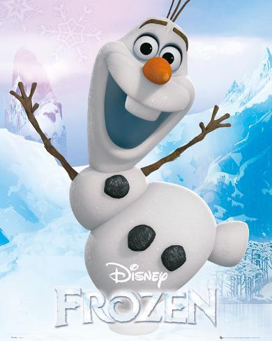 Frozen - Olaf Mini Poster