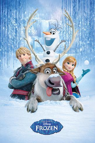 Frozen - Snow Group Poster