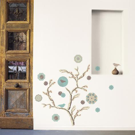 Frozen tree Wall Decal