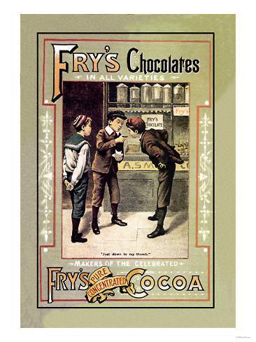Fry's Chocolates Art Print