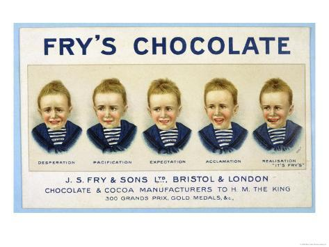 Fry S Five Boys Chocolate Desperation Pacification