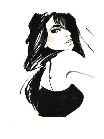 Brunette 1 Giclee Print