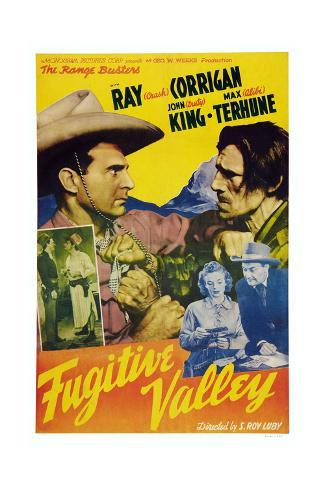 Fugitive Valley Giclee Print