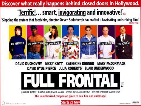 Full Frontal Poster