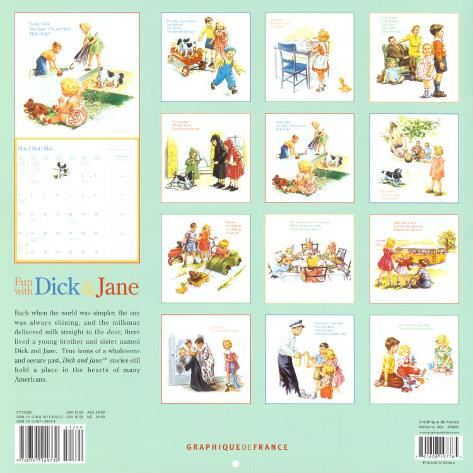 Dick jane visual aid posters