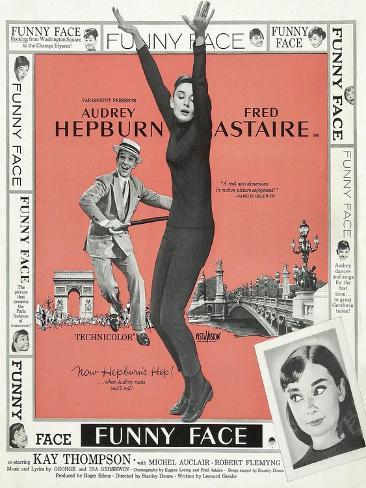 Funny Face, 1957 Gicléetryck