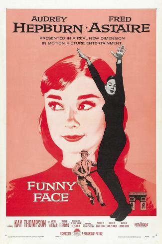 Funny Face, Directed by Stanley Donen, 1957 Impressão giclée