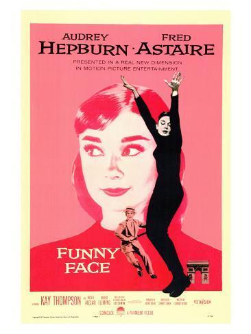 Funny Face Art Print