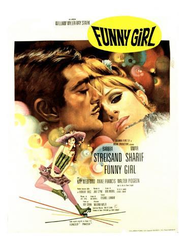 Funny Girl, Omar Sharif, Barbra Streisand, 1968 Fotografía