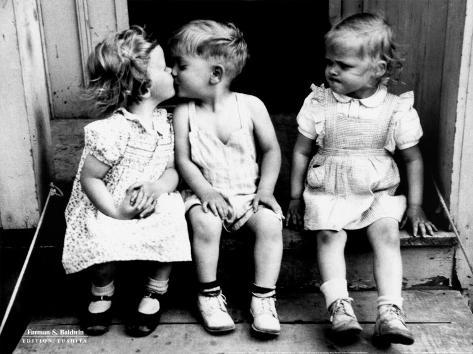 Beijo Impressão artística