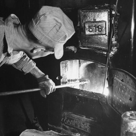 Furnace Conversion from Oil to Coal Photographic Print