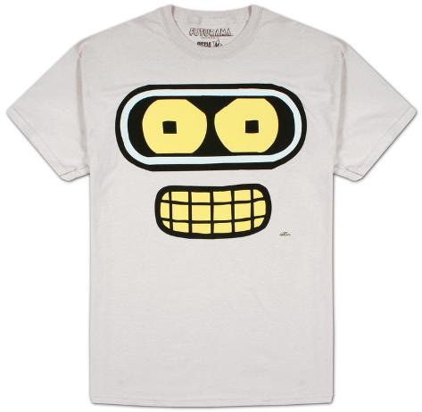 Futurama - Bender Face T-Shirt