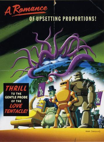 Futurama: The Beast with a Billion Backs Masterprint